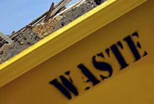 What is the difference between a domestic skip and a commercial skip?