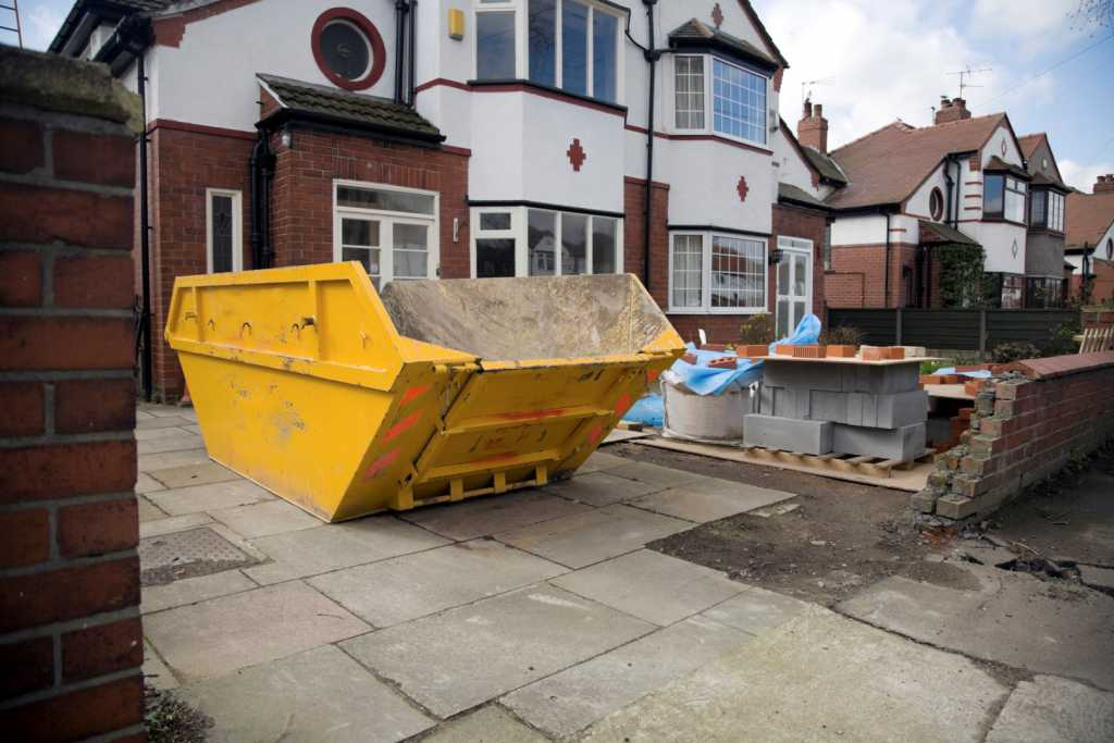 Home Extension Domestic Skip Hire